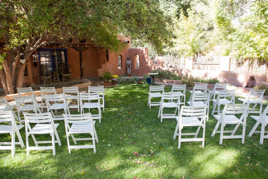 Outdoor September Wedding at Taos Bed and Breakfast