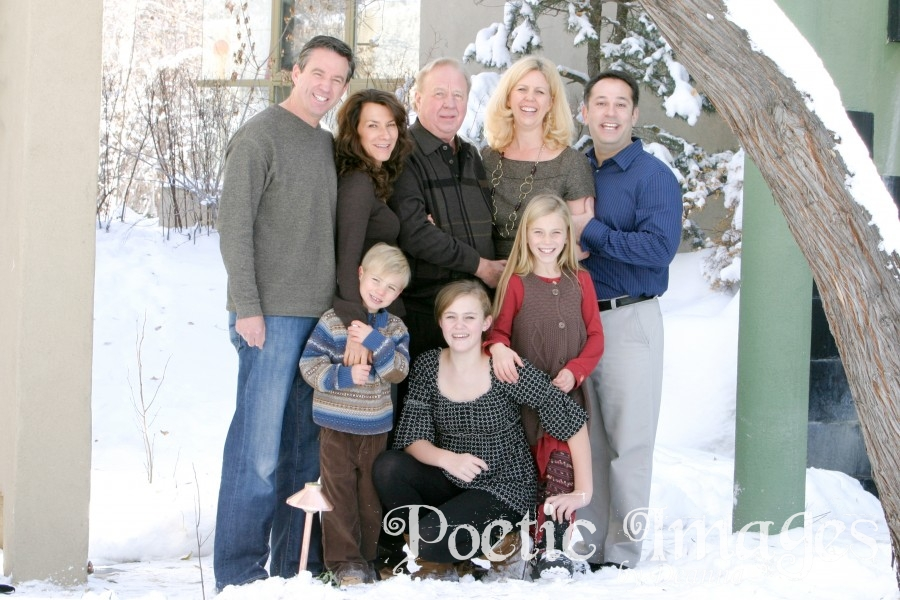 Family Photos in the Snow!