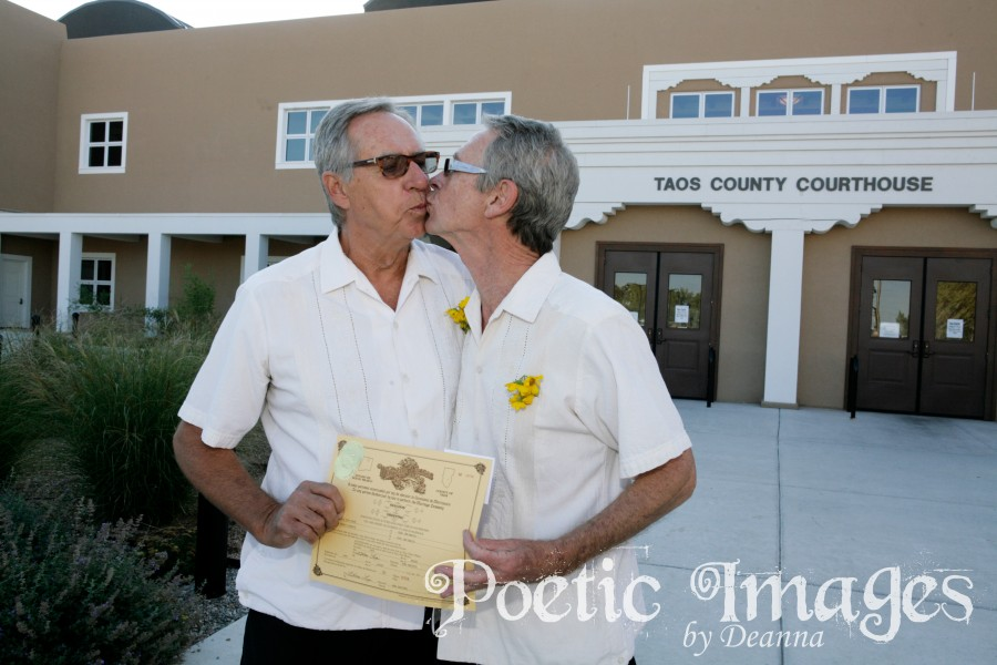 It's Legal! Same Sex Marriage Weddings in Taos!