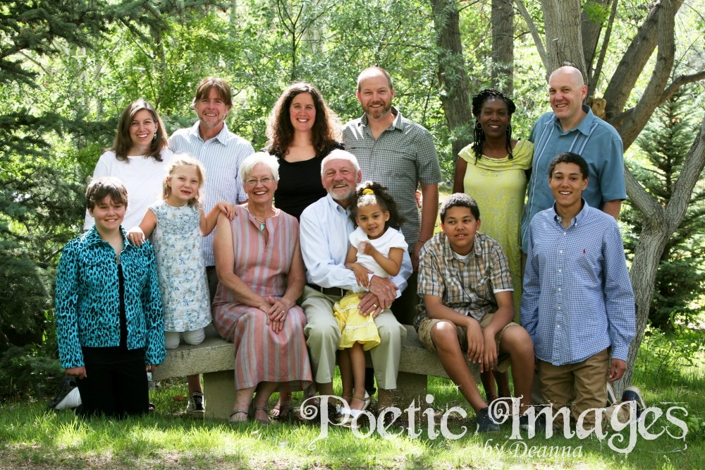 Family Photographs while on Vacation in Taos