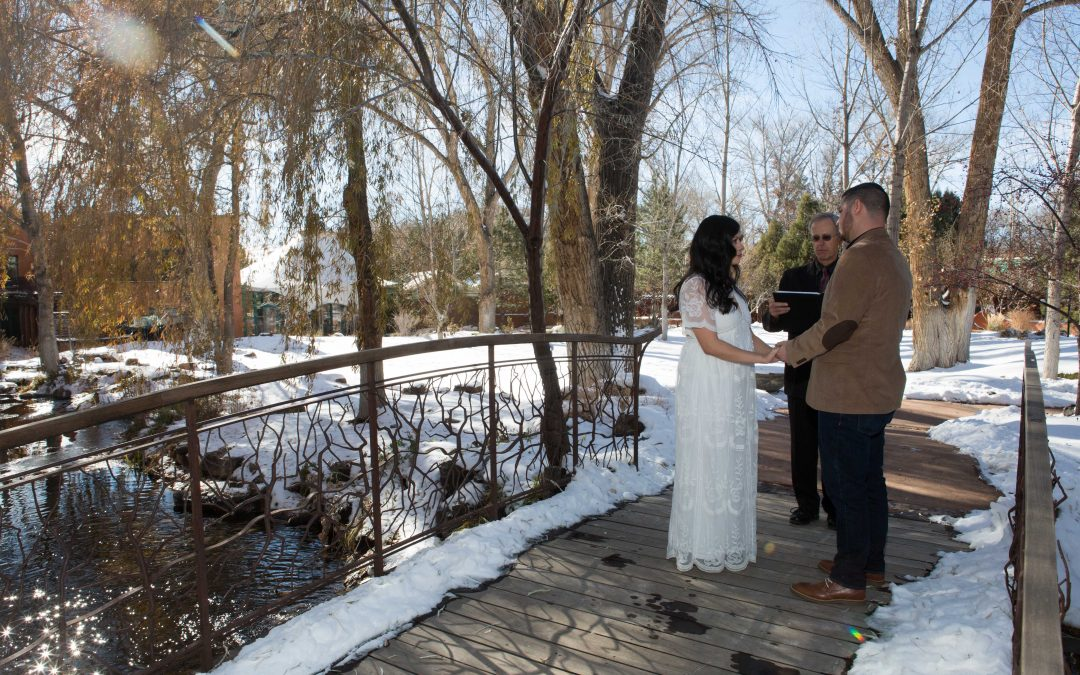 Outdoor December Elopement