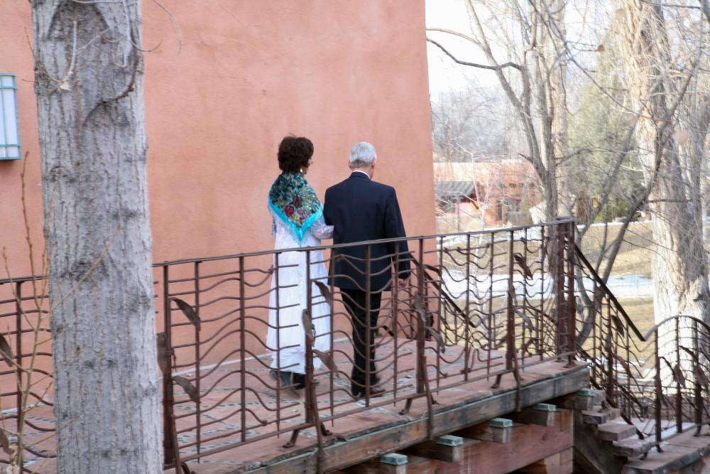 Valentine's Day Wedding in Taos, NM