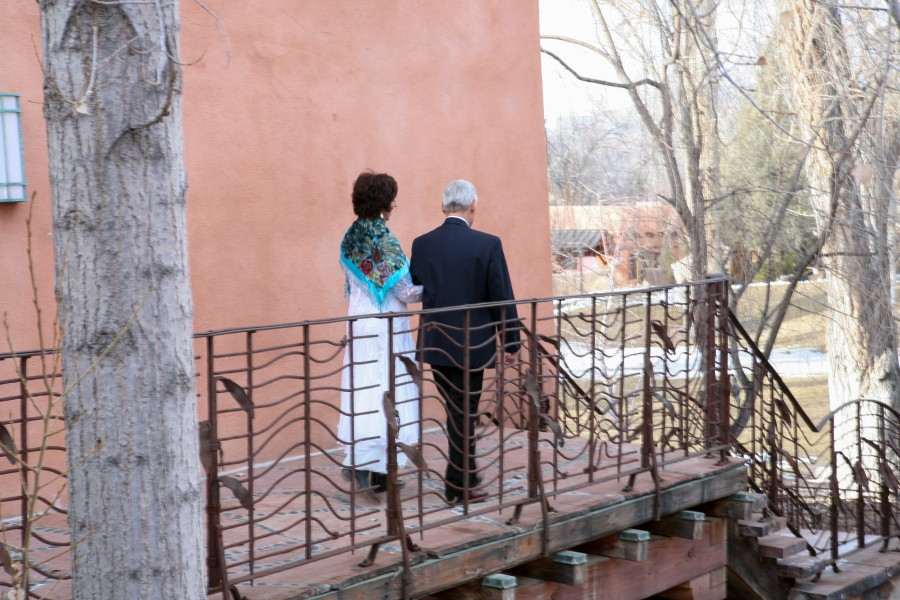 Valentine's Day Wedding in Taos, NM