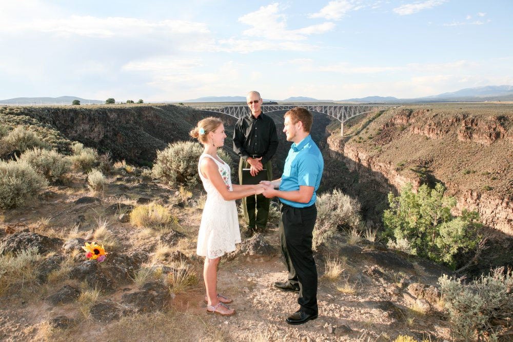 Destination Elopement to Taos, NM