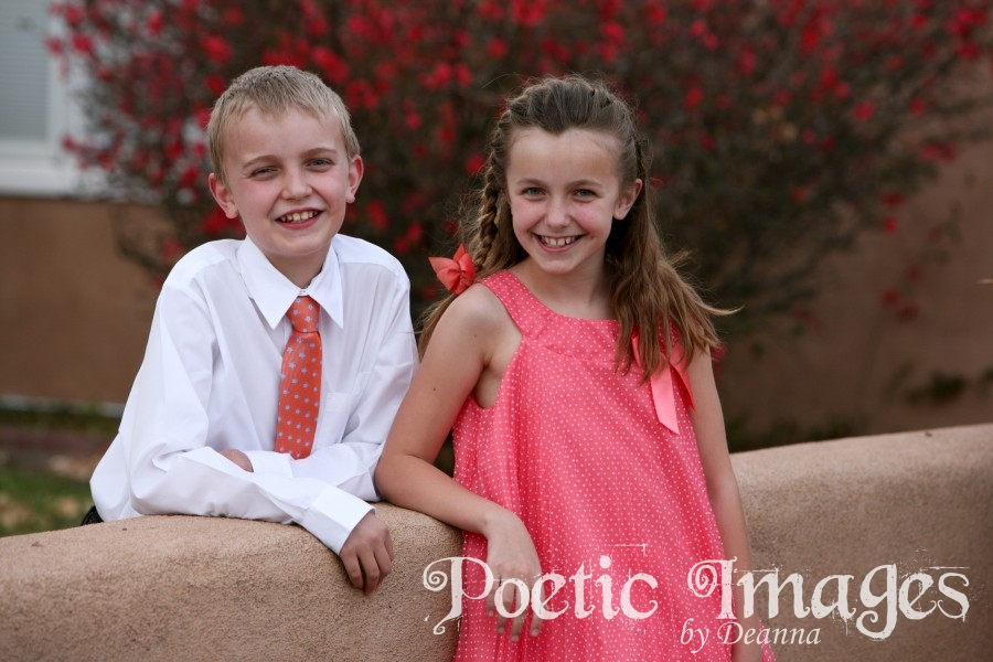 children's spring portraits