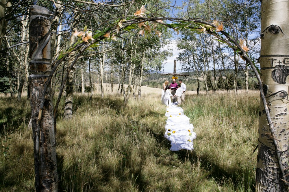 Elopement at Outdoor Location in Northern New Mexico