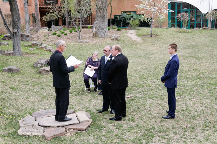 Gay Wedding at Local Four Diamond Resort