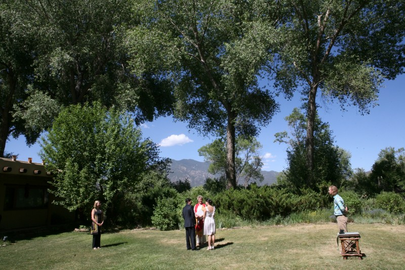 Taos Mountain wedding