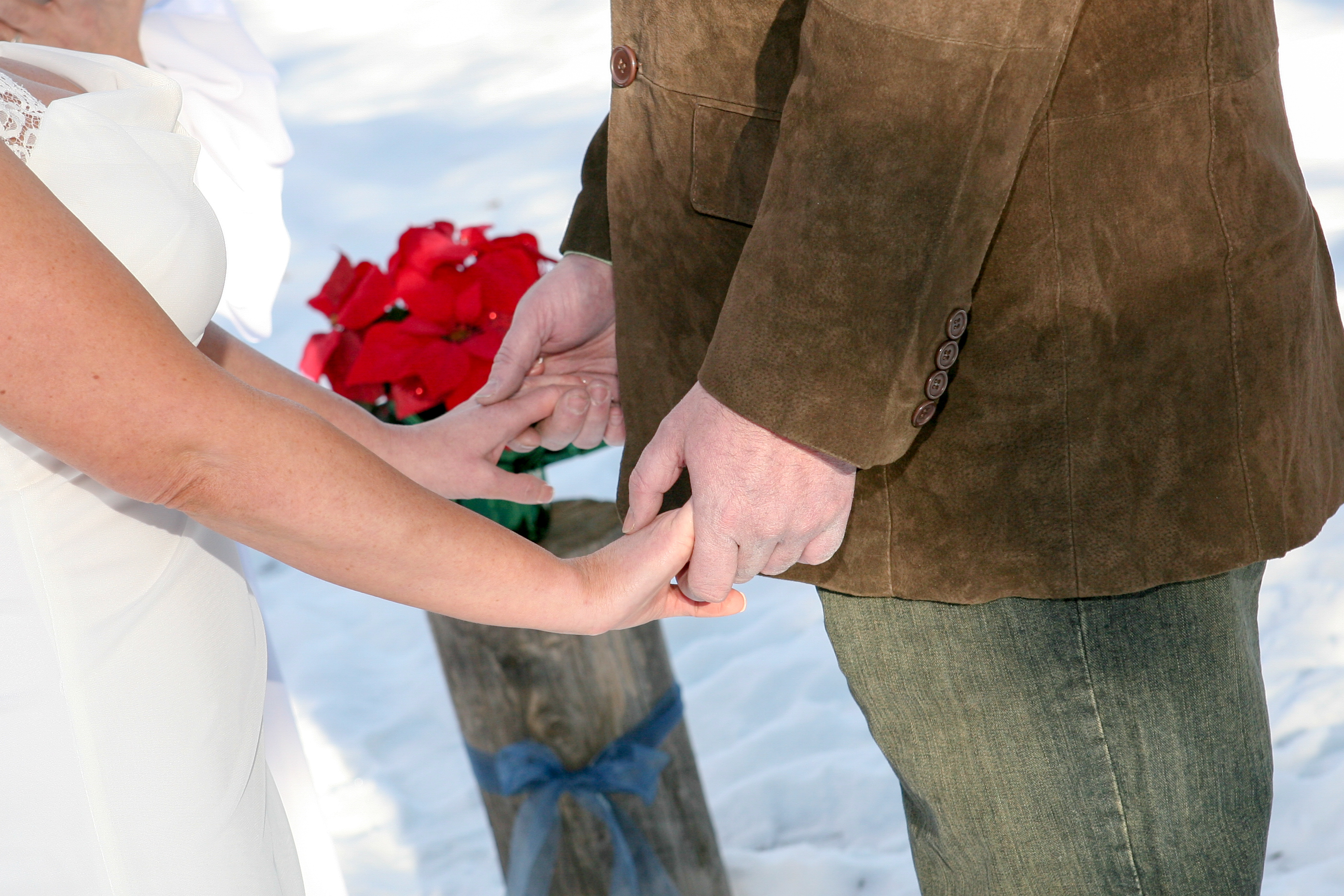 Intimate Ceremony at Taos Bed and Breakfast