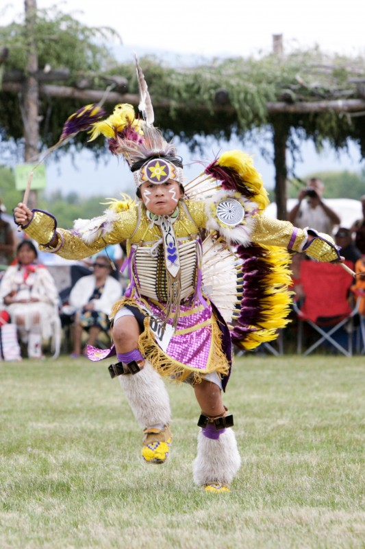 Young Boys Powwow Competition