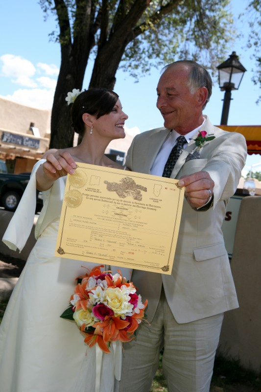 Taos County Marriage license