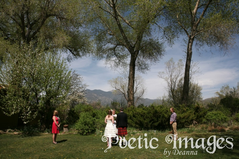 Scottish Wedding with a Southwest Flair
