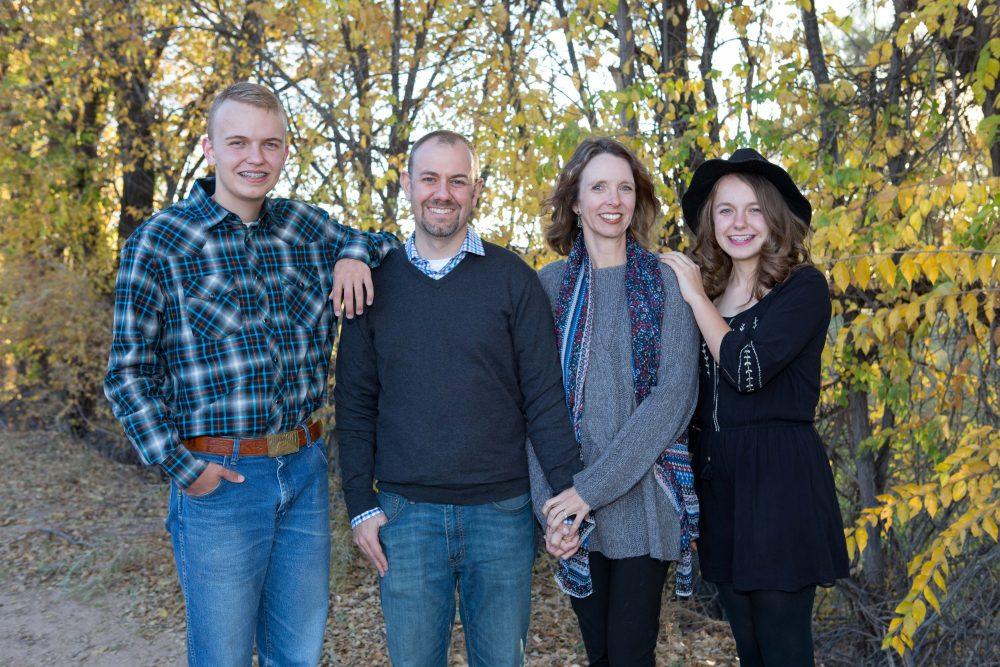 Family Photographs for Christmas Cards