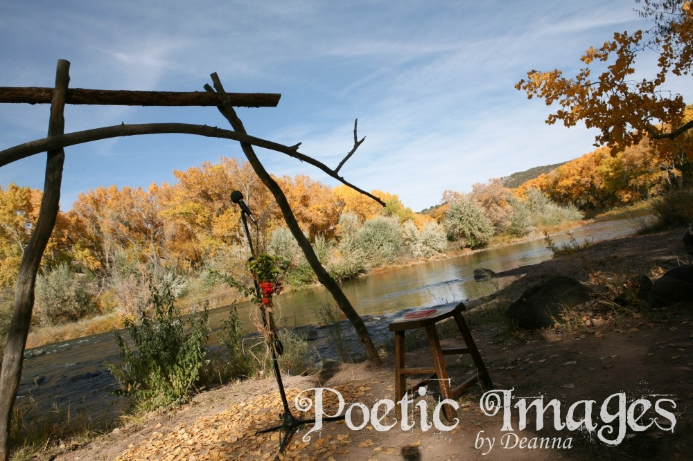Fall Wedding by the River