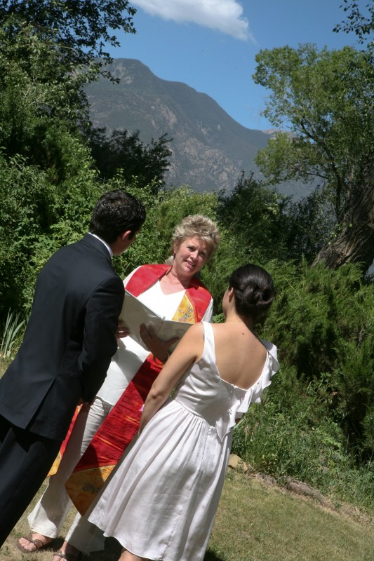 Karen Baldwin officiant