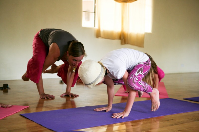 challenging yoga for little ones