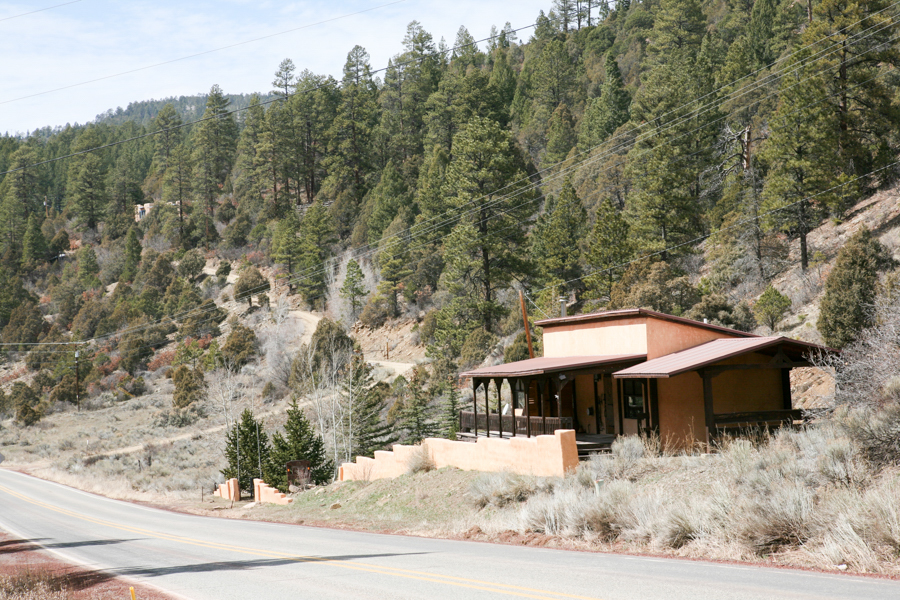 Real Estate Photography for Taos Canyon Cabin