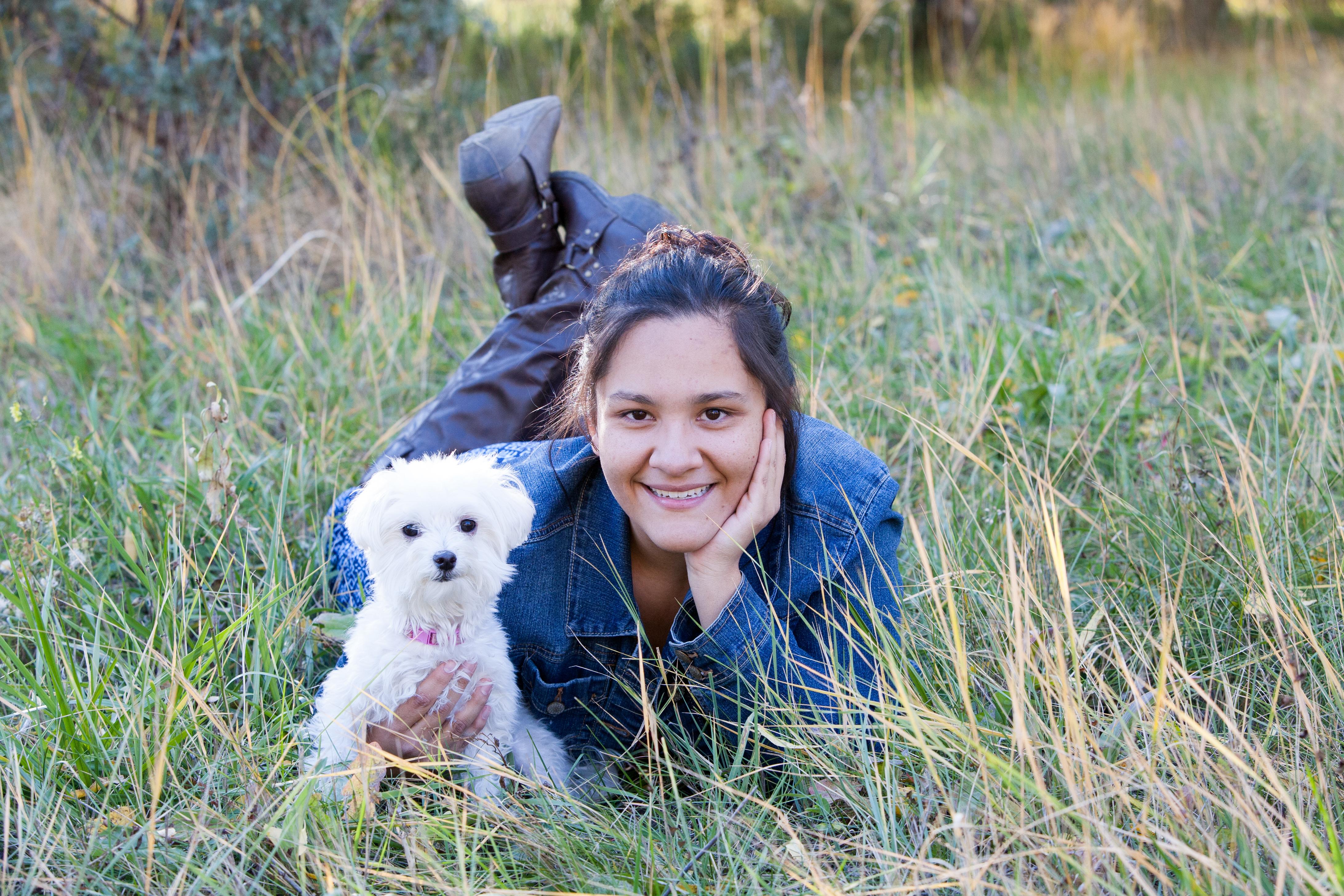 Senior Photos of Taos Academy Student