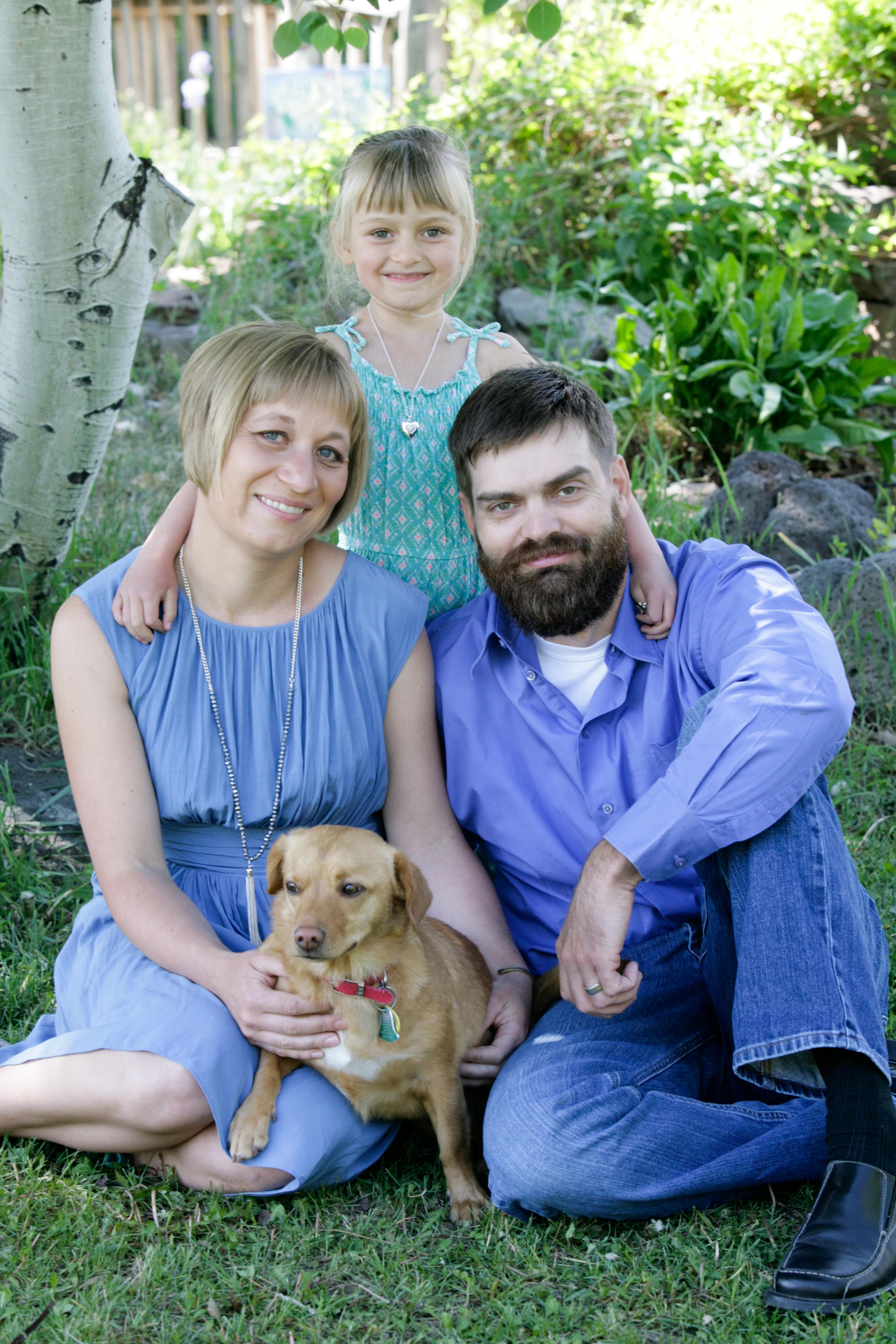 Family Portraits in Springtime