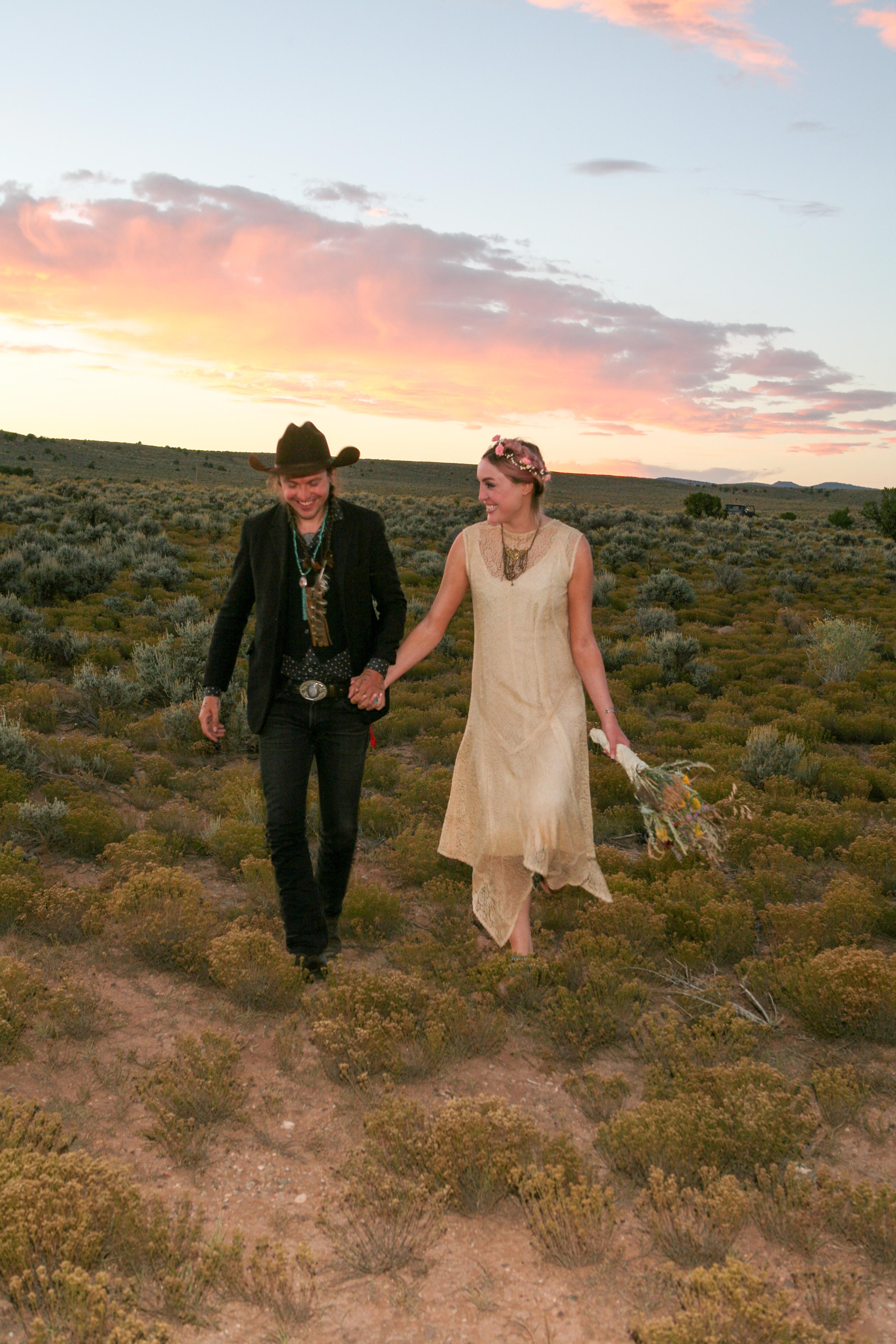 Wedding on the Taos Mesa