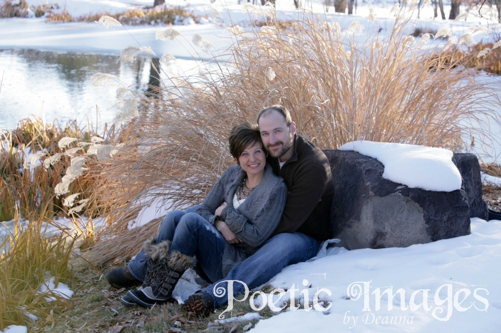 Engagement Photo Shoot in the Snow