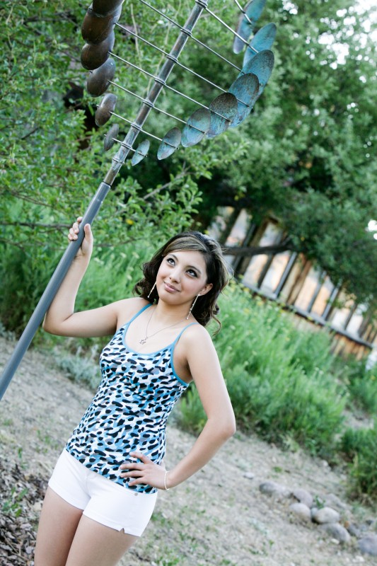 senior pictures at taos high school