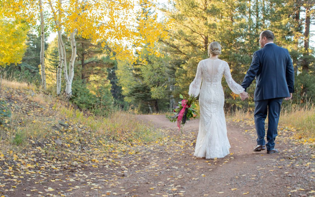Angel Fire Wedding in Autumn