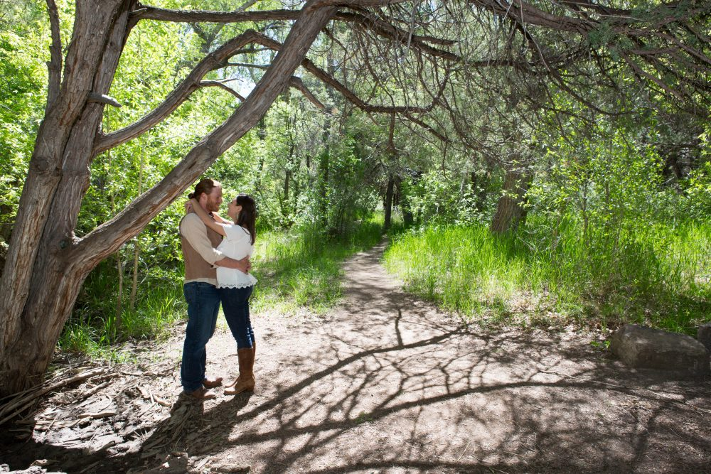 Engagement Shoot in Carson National Forest