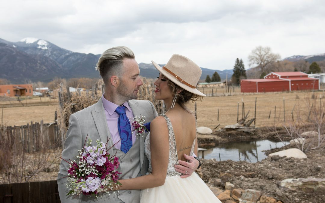 An April Elopement in the Cool Mountains of Taos