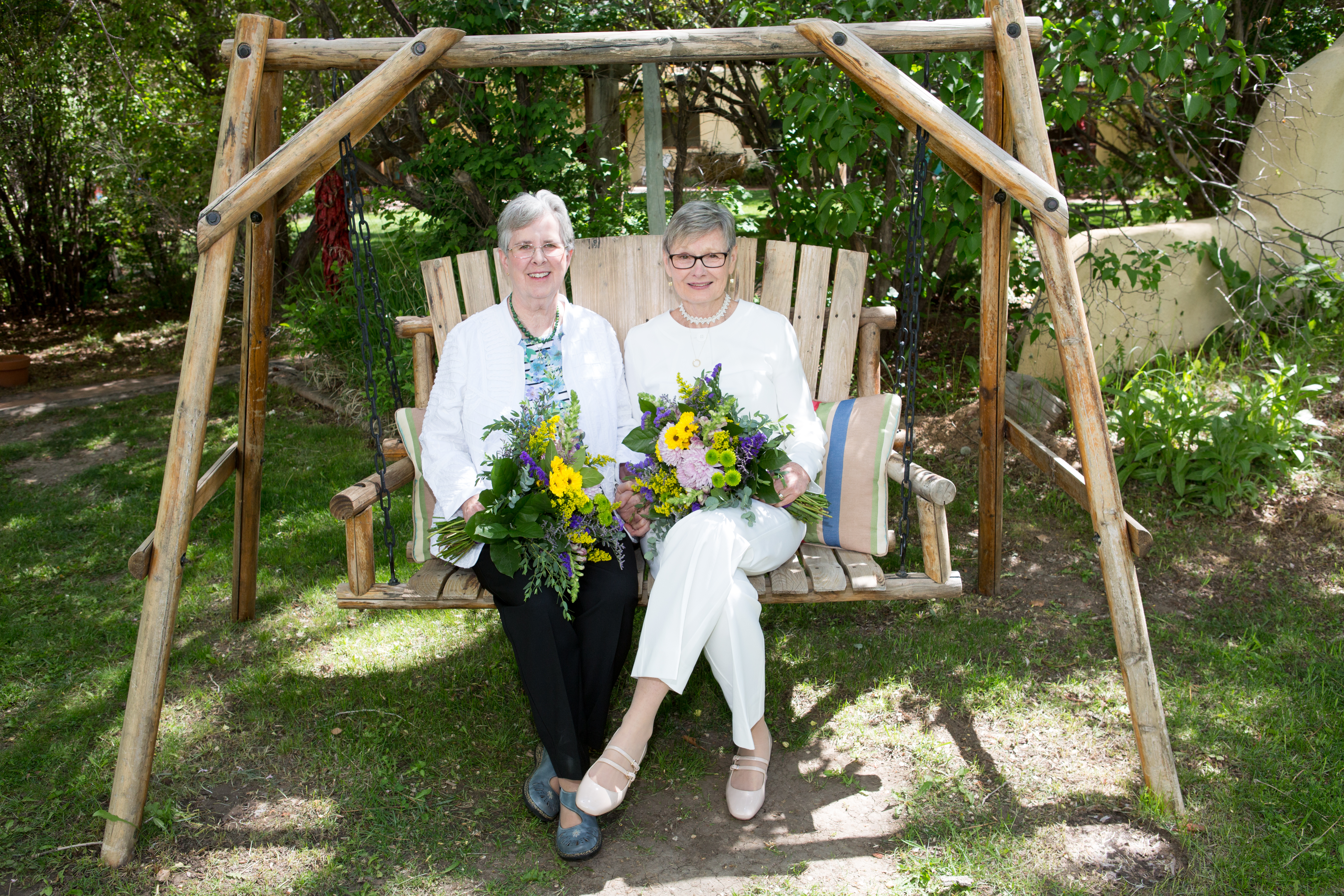Lesbians from the East Coast Elope in Taos, NM