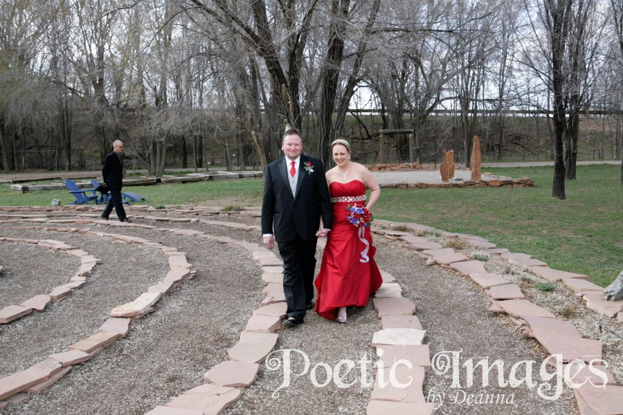 Walk the Labyrinth to the Wedding Ceremony