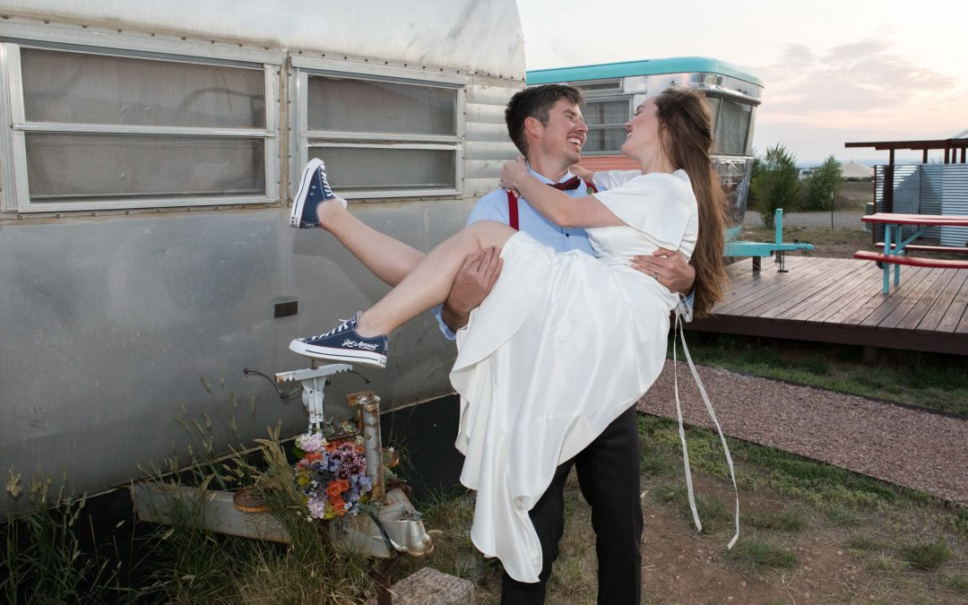 Getting Hitched at a Sweet Little Taos Elopement