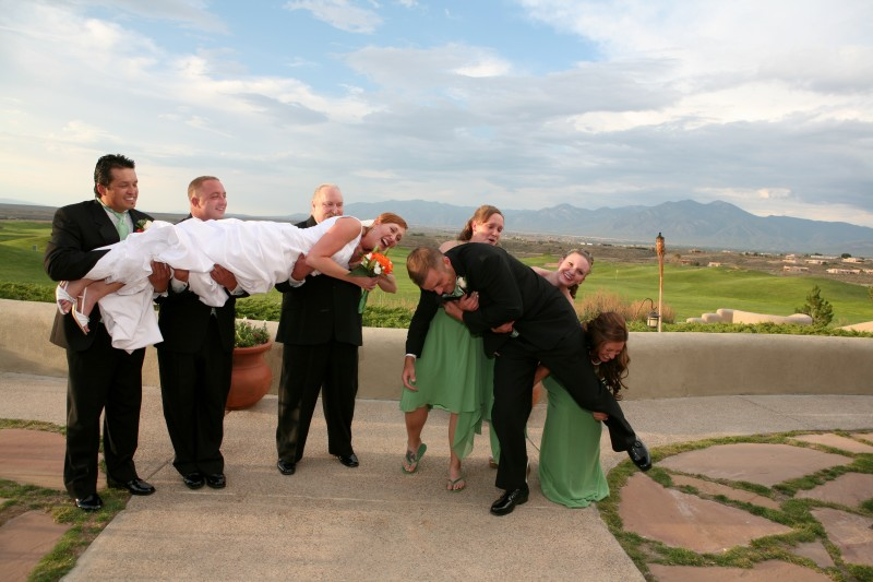wedding party fun