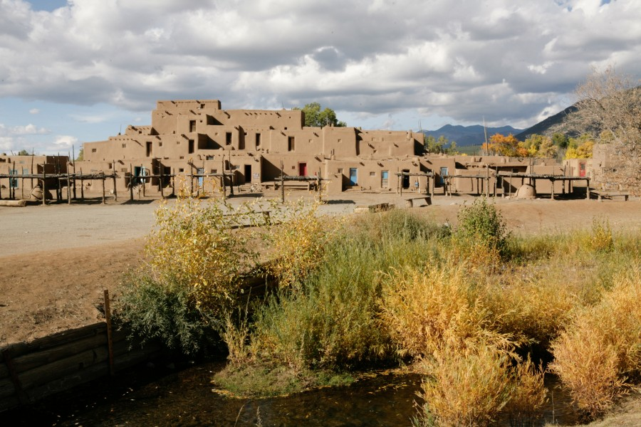 Documenting PBS while they Document Taos Pueblo
