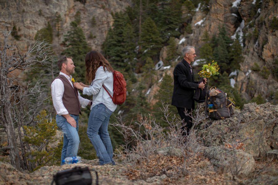 Intimate Wedding in El Salto, NM