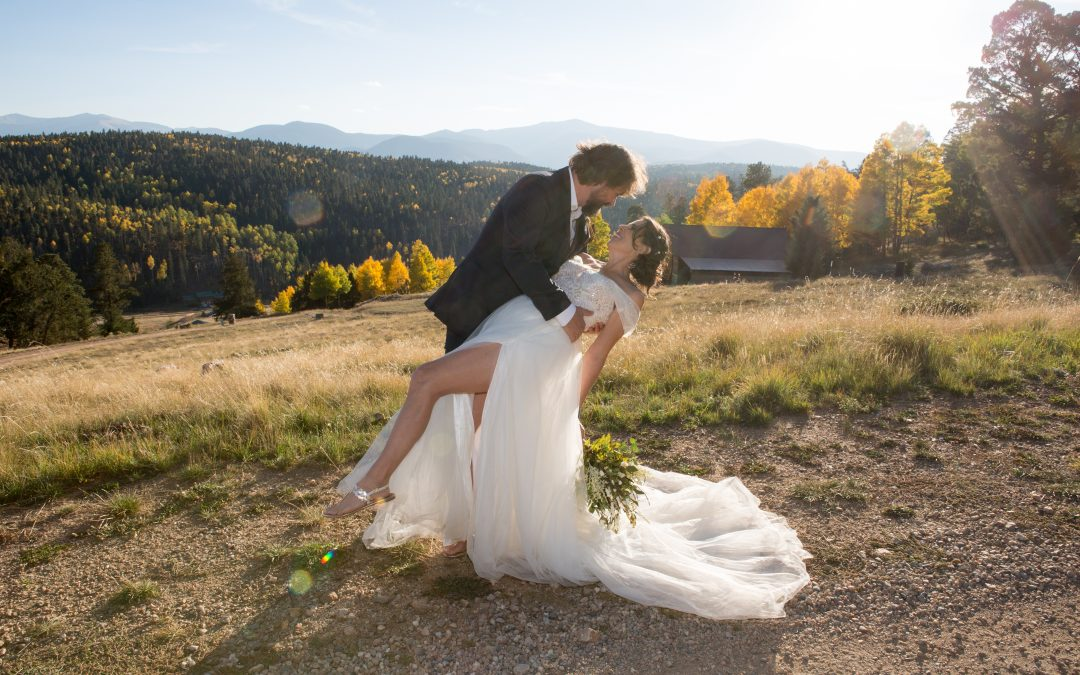 Autumn Wedding in Red River