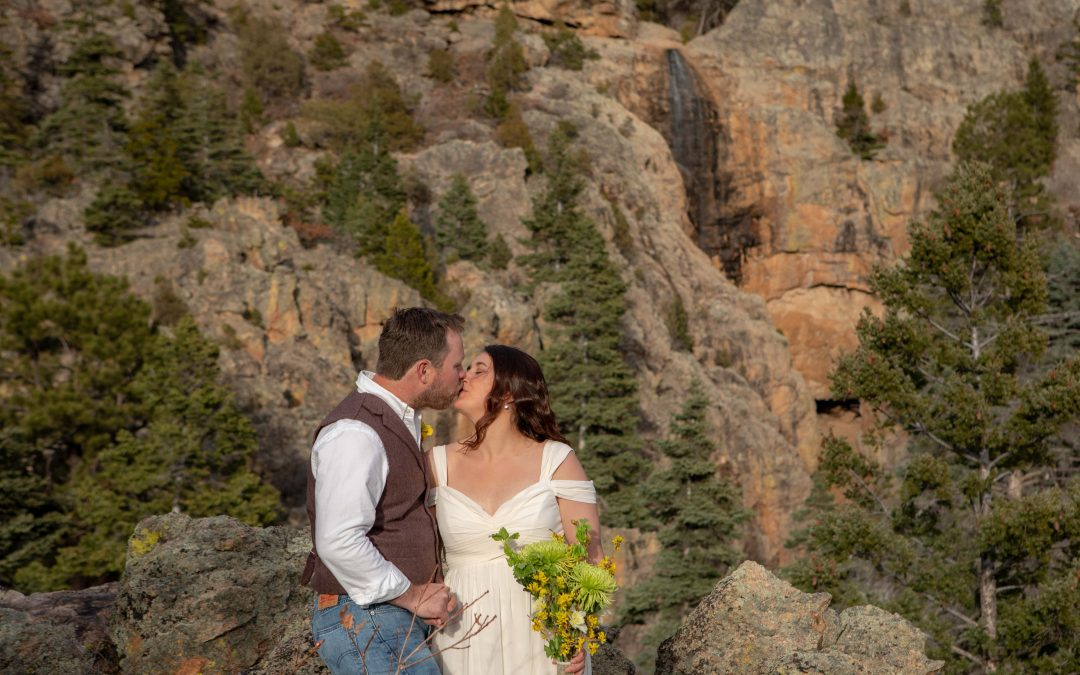 Intimate Wedding in El Salto, NM