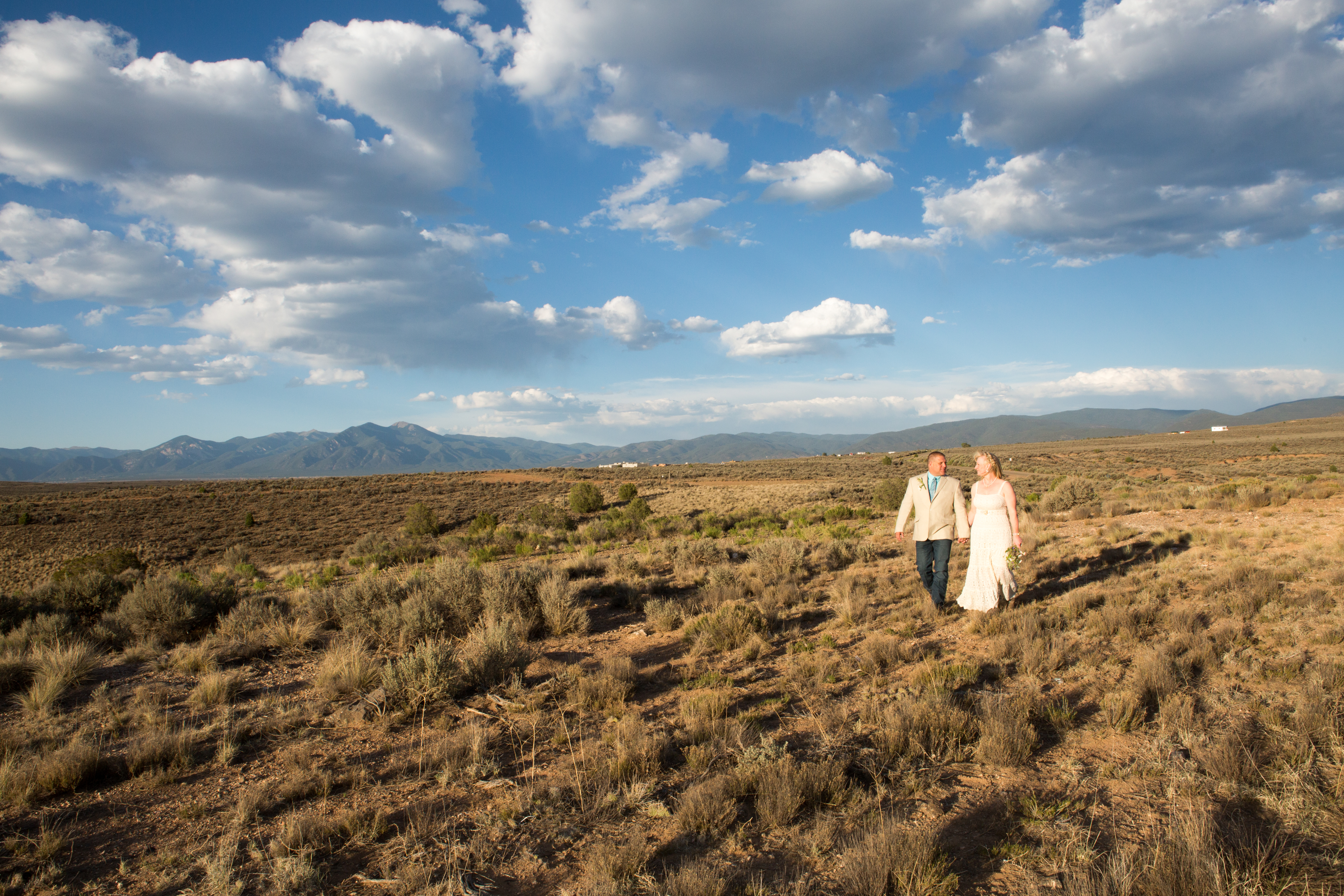 Desert Elopement in Taos, New Mexico