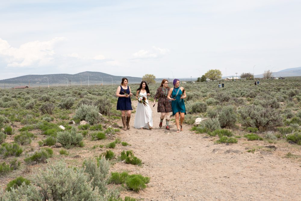 May Wedding On Rim of Rio Grande Gorge