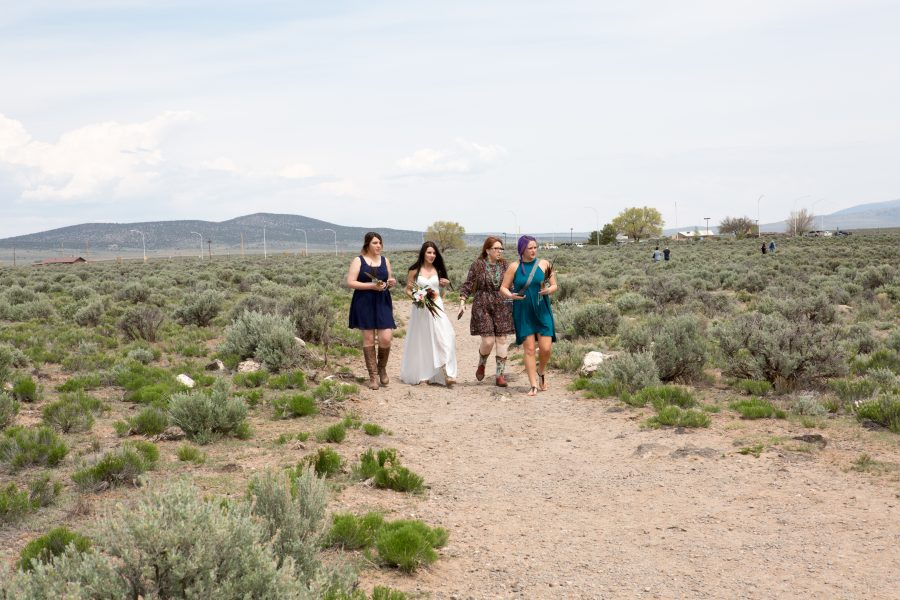 May Wedding On Rim of Rio Grande Gorge